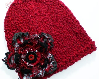 Real Red Slim Fit Hat