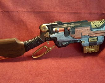 Steampunk Victorian Rifle, Costume Gun, Cosplay Weapon, Post Apocalyptic