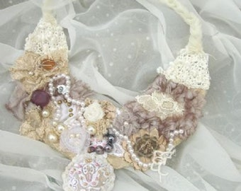 Bridal Necklace, one of a kind!!