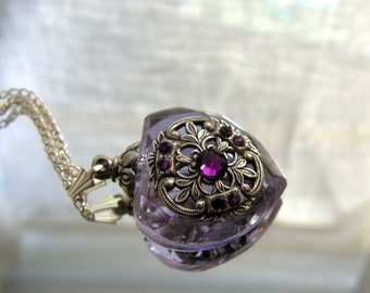 Essential Oil / Perfume Bottle Necklace