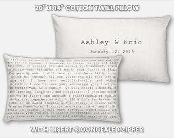 Wedding Song Pillow Wedding Song Lyrics Pillow Song Lyrics on a Pillow Lyrics on Pillow Personalized Pillow Gift Wedding Pillow Gift