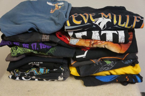 M Various Lot Various Shirts and Tee condition Size Lot of as Various Sm styles XL price is one L 9 sizes styles Ts Vintage Ts qpTpxFw0z