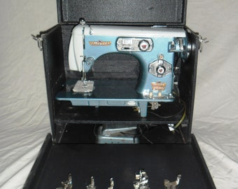 Royal vintage sewing machine Cleaned serviced & TESTED WORKING BEAUTIFULLY