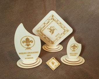 Personalised Scout/Guide Trophies or Medals
