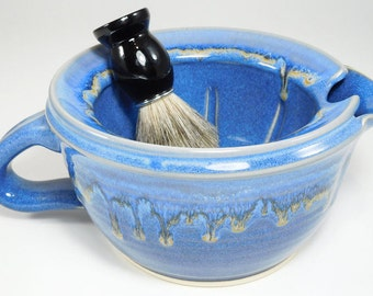 Large Shave Scuttle - Big Scuttle Wetshave - Big Scuttle Shave - Scuttle Shaving Mug - Wet Shave Scuttle - Stoneware Scuttle - In Stock