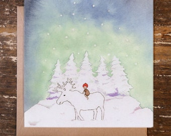 Winter's Journey - Greeting Card