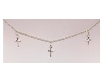 Sterling silver 925 cross necklace