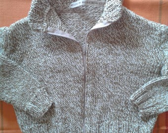 18 months hand knitted Cardigan