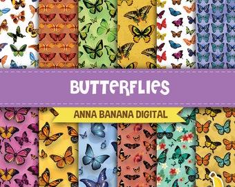 Butterflies Digital Paper
