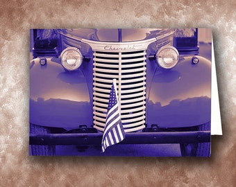 1939 Chevrolet Truck Greeting Card. Antique Truck