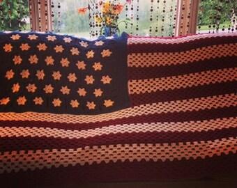 American flag afghan etsy american flag afghan dt1010fo