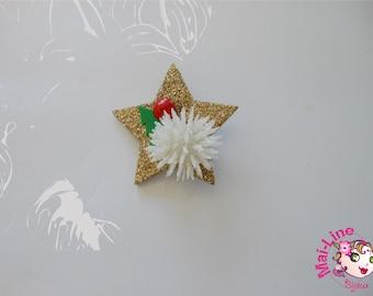 BROOCH GOLDEN STAR 01
