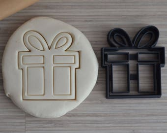 Cutter for cookies, gift