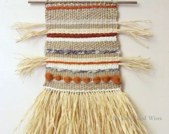 "Tapestry weaving ""Wilderness"""