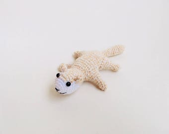 Crochet Flying Squirrel Amigurumi