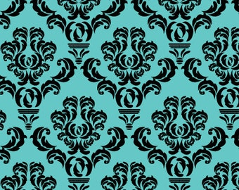 Removable Wallpaper Peel And Stick Baroque Damask Reusable