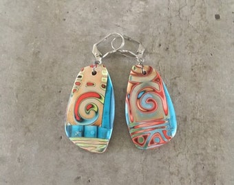 polymer clay earrings - new collection spring/summer