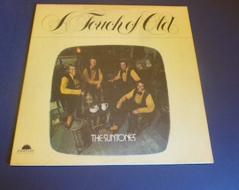 The Sun Tones A Touch Of Old  LPS 6309 with Autographs