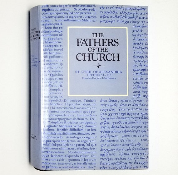 The Fathers of the Church: St. Cyril of Alexandria Letters 51-110 by John McEnerney