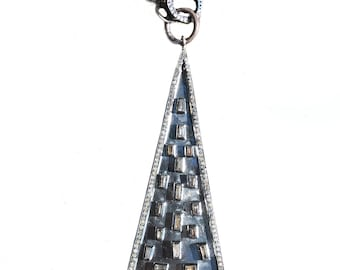 Crystal And Diamonds Necklace