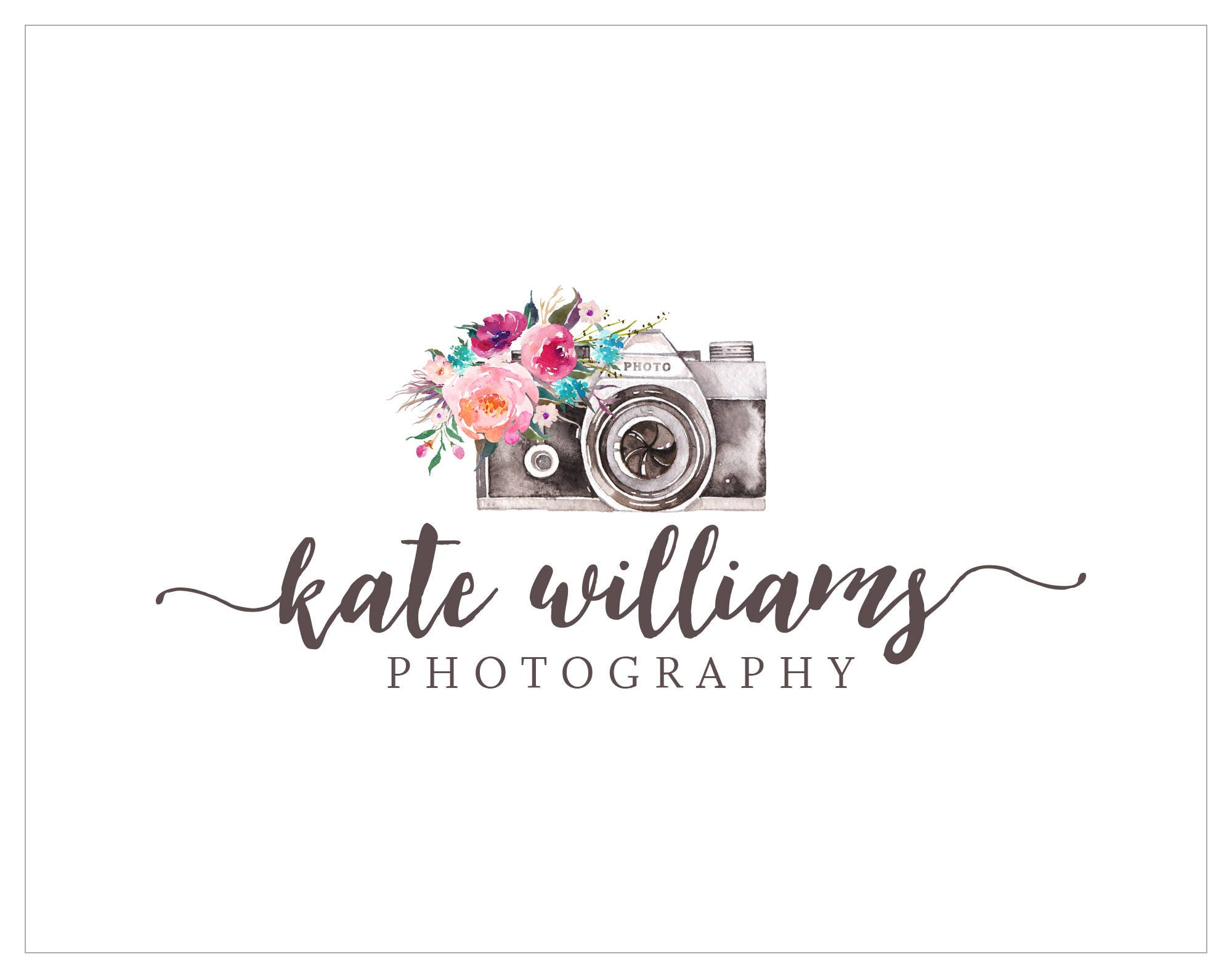 premade logo photography logo logo design photography