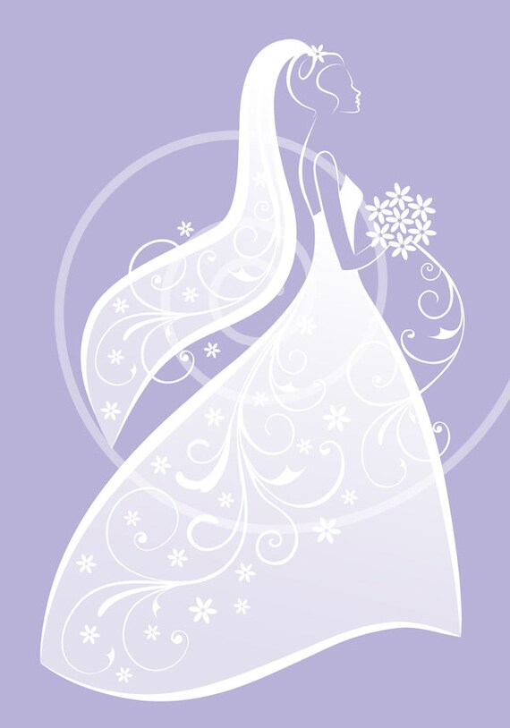 bride clipart white wedding dress digital clipart for bridal rh etsy com bride and groom clipart free download free bride clipart silhouette