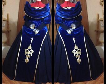 Dragon Age Empress Celene cosplay dress