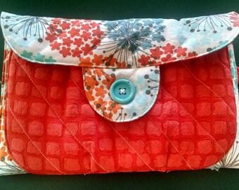 Clutch Big pocket baby clutch Handmade clutch Baby clutch Diaper clutch Big clutch Small bag Small diaper bag Wallet Small purse Homemade