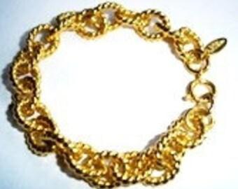 Sara Coventry Vintage Link Bracelet