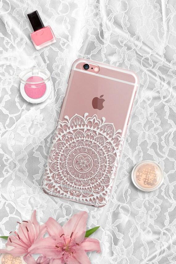 Mandala iPhone 6s Case Clear Silicone Samsung S6 Case Clear Rubber Tribal iPhone 6s Plus Case Clear Samsung Galaxy Note 5 Case Mandala 37