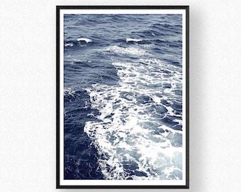 Ocean Print, Sea Wall Art, Digital Download, Ocean Art, Wave Wall Art, Ocean Photography, Ocean Poster, Ocean Waves Print, Nature Art Prints
