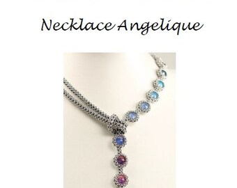 Beading Pattern Necklace Angelique PDF (English)