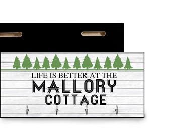 Let is better at the cottage personalized housewarming gift for cottage/ trailer/ new cottage lake house