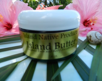 Island Butter all natural moisturizer, best moisturizer.