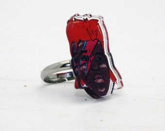 Biggie Stardust Acrylic Ring with Box