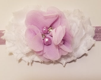 Lovely in Lilac Infant Headband
