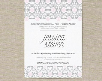 Wedding Invitations - Customize for your special day!