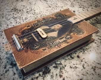 3-String Faux Book Guitar