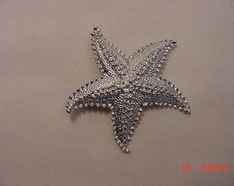 Vintage Starfish Brooch  18 - 726