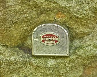 Vintage Mansco No 256 6 foot push pool tape measure