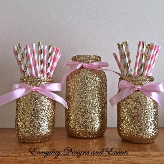 Mason Jar Party Decorations: Mason Jar Centerpiece Baby Shower Ideas Baby Shower