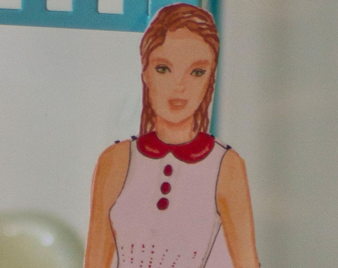 Digital Download Paper Doll