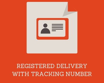 Registration and tracking service for orders below 28 Eur