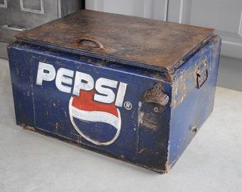 Pepsi cola year 60 vintage cooler