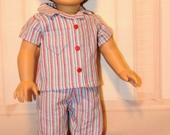 Striped Boy Pajamas