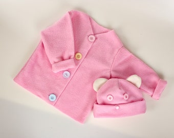 Sew Your Own Baby Set - Light Pink