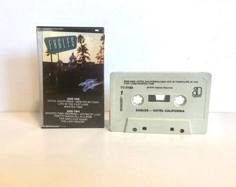 The Eagles Hotel California Cassette Tape, 1976 Vintage Audio