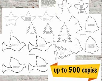 Printable Acts of Kindness Advent Calendar - Large Church Use - 500 Copies