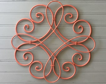 Awesome More Colors. Coral Metal Wall ...