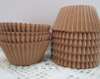 Kraft Natural Cupcake Muffin Baking Liners ~ Standard Size ~